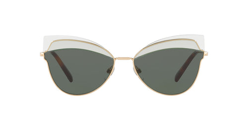 Valentino VA2030 Gold / Green Lens Sunglasses