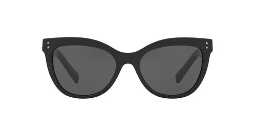 Valentino VA4049 Black / Gray Lens Sunglasses