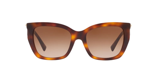 Valentino VA4048 Havana / Brown Lens Sunglasses