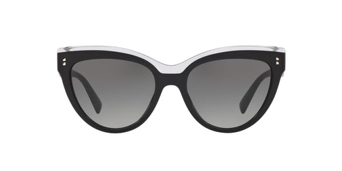 Valentino VA4034 Black / Gray Lens Sunglasses