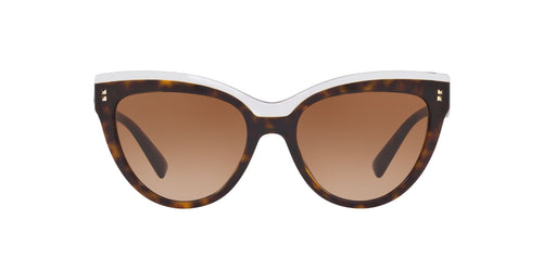 Valentino VA4034 Havana / Brown Lens Sunglasses