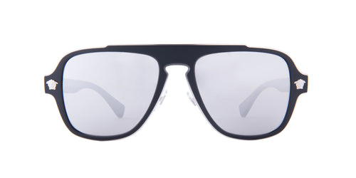 Versace - VE2199Q Black Square  Sunglasses - 56mm
