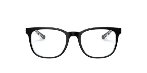 Ray Ban Rx RB5369 Black / Clear Lens Eyeglasses