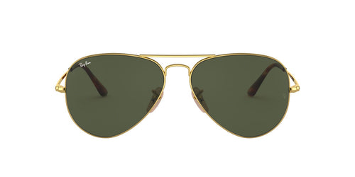Ray-Ban RB3689 Gold / Green Lens Sunglasses