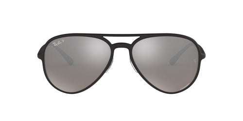 Ray Ban - RB4320CH Black Aviator Unisex Sunglasses - 58mm
