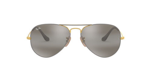 Ray-Ban RB3025 Gray / Gray Lens Mirror Sunglasses