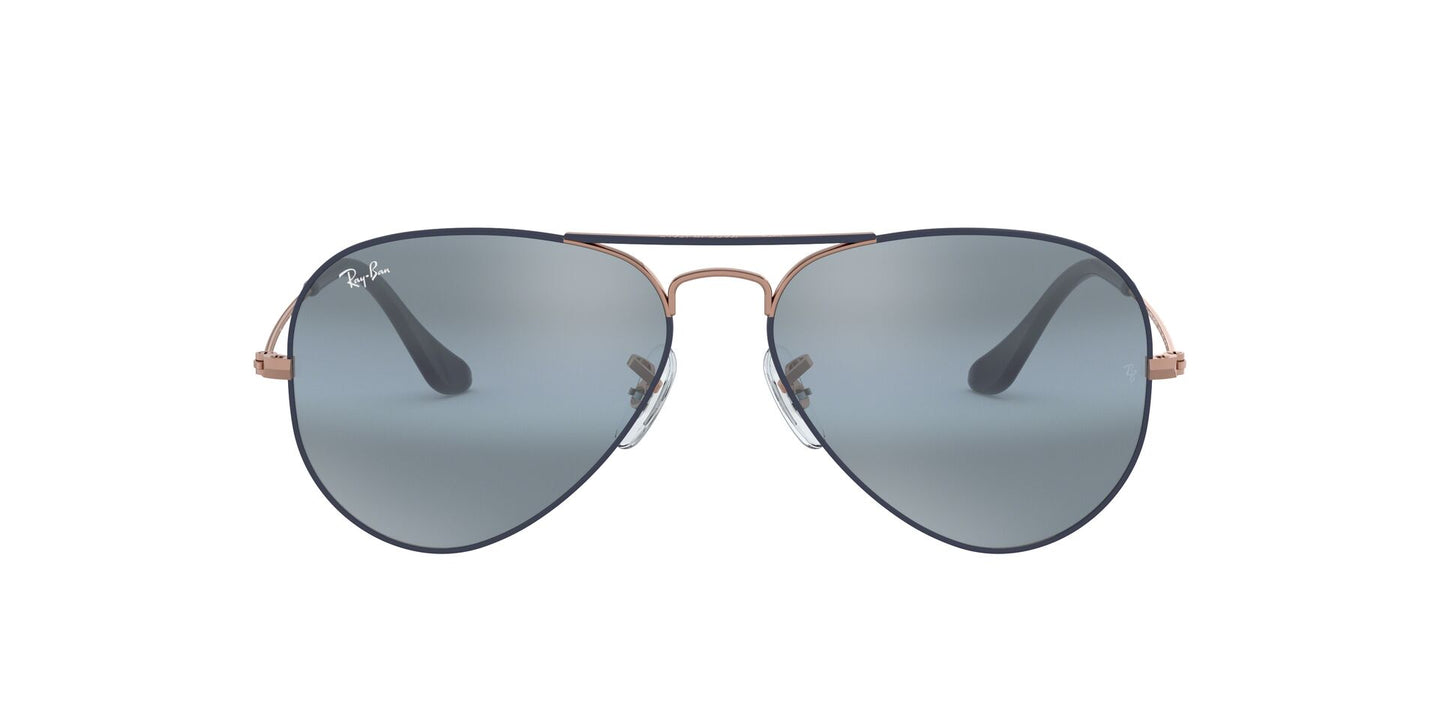 Ray Ban - RB3025 Copper Aviator Men Sunglasses - 58mm