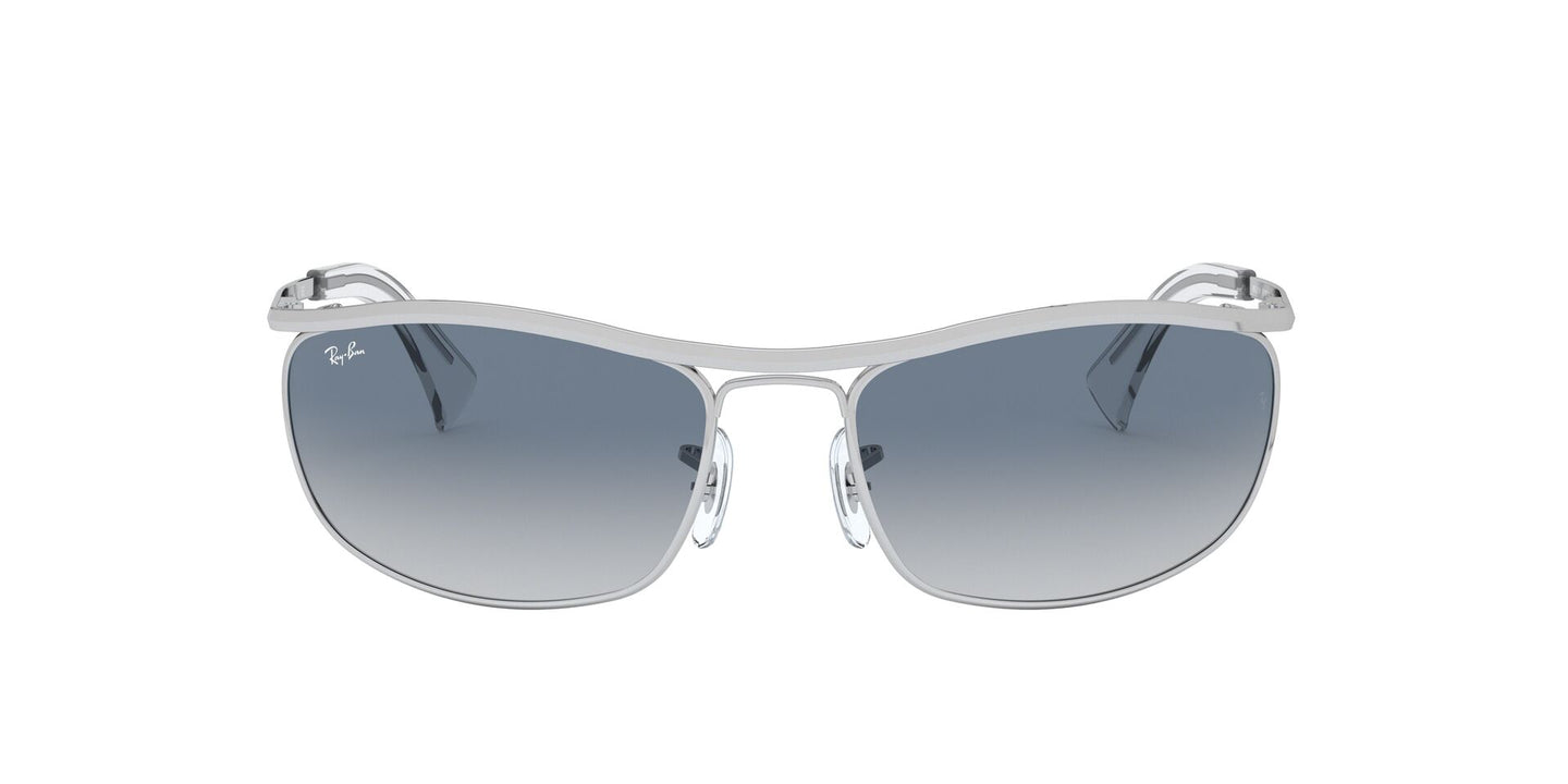Ray Ban - RB3119 Silver Wrap Men Sunglasses - 62mm