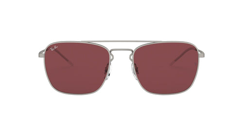 Ray-Ban RB3588 Silver / Dark Violet Lens Sunglasses