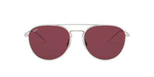 Ray-Ban RB3589 Silver / Violet Lens