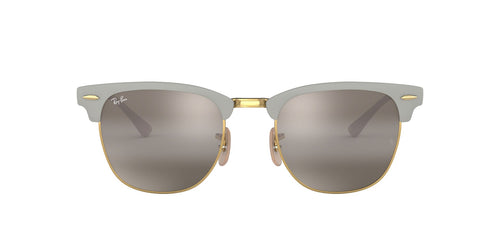 Ray Ban - RB3716 Gray Square Unisex Sunglasses - 51mm