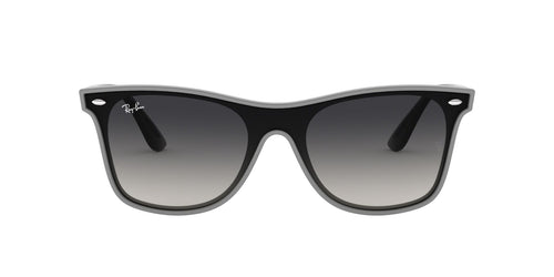 Ray Ban - RB4440N Gray Square Unisex Sunglasses - 41mm