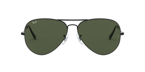 Ray Ban - Aviator Large Metal II Black Aviator Unisex Sunglasses - 62mm