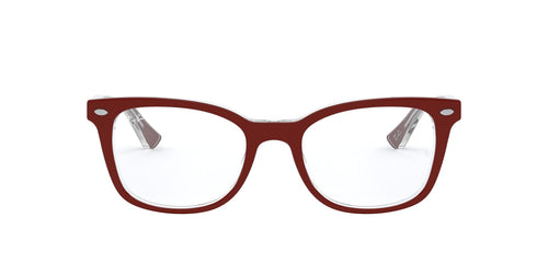 Ray-Ban Rx - RX5285 Top Bordeaux On Trasparent