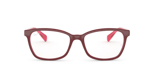 Ray Ban Rx - RX5362 Top Fuxia/Pink/Fuxia Transp Butterfly Women Eyeglasses - 54mm