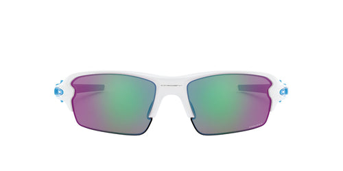 Oakley - OO9271 Polished White Rectangle Men Sunglasses - 61mm