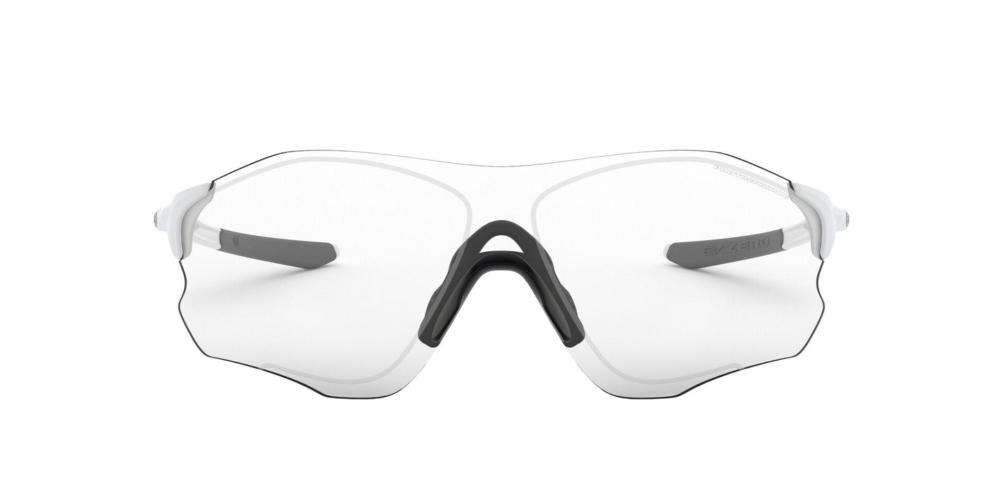 Oakley - Evzero Path Matte White/Clear Black Rectangle Men Sunglasses - 38mm