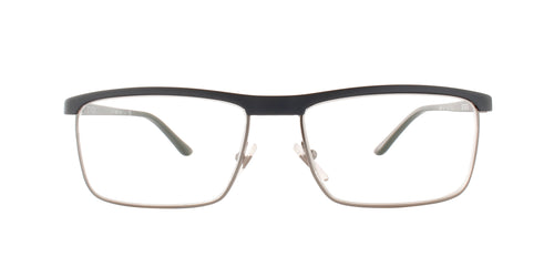 Starck - SH2017 Blue/Clear Rectangular Men Eyeglasses - 55mm