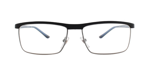 Starck SH2017 Black / Clear Lens Eyeglasses