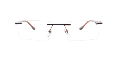 Starck SH2024 Red / Clear Lens Eyeglasses