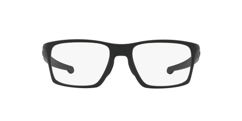 Oakley - OX8140 Satin Black Square Men Eyeglasses - 53mm