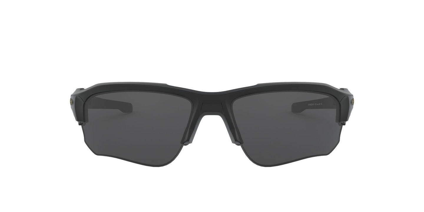 Oakley - Speed Jacket Black/Grey Oval Men Sunglasses - 67mm