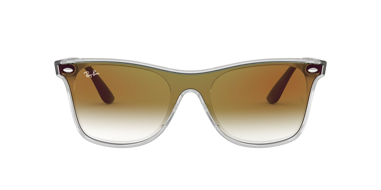 Ray Ban - RB4440NF Trasparent Phantos Unisex Sunglasses - 44mm