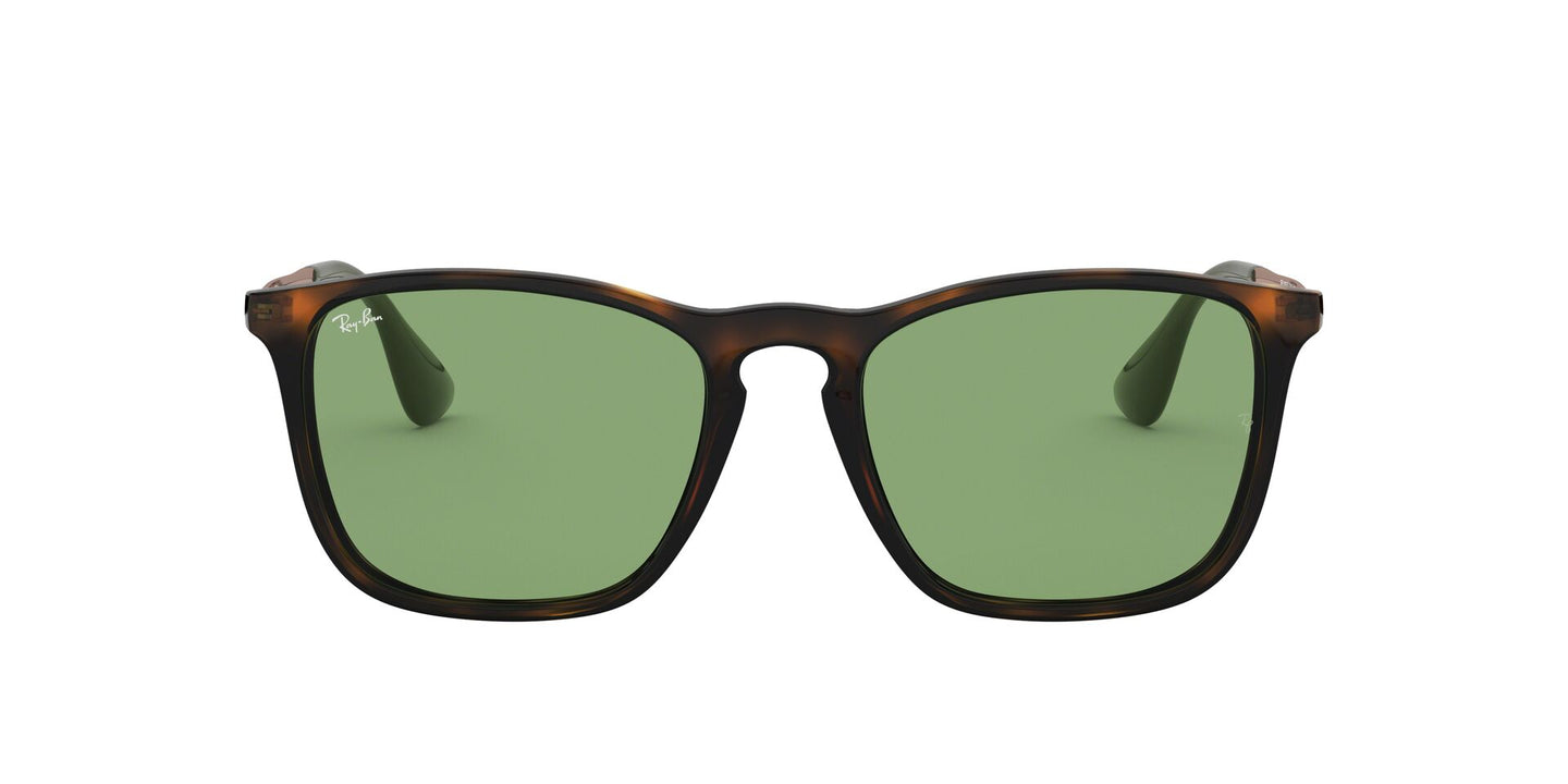 Ray Ban - RB4187F Havana Square Men Sunglasses - 54mm