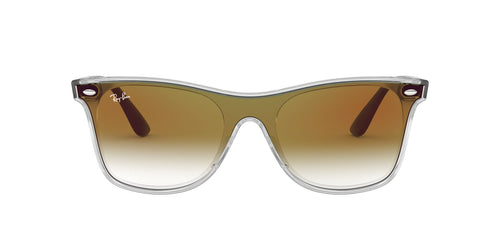 Ray Ban - RB4440N Trasparent Square Unisex Sunglasses - 41mm