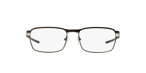 Oakley - Conductor Pewter/Clear Rectangle Men Eyeglasses - 52mm