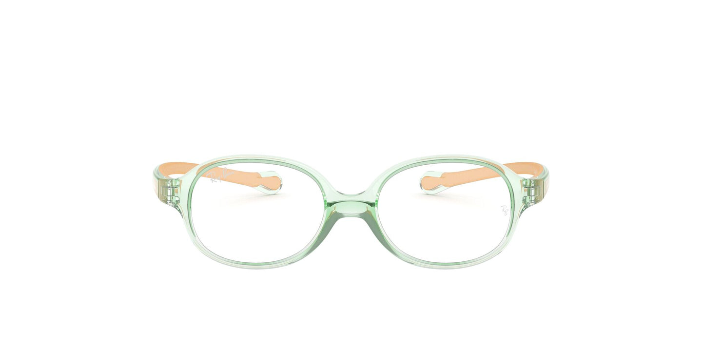 Ray Ban Rx - RY1587 Green Oval Unisex Eyeglasses - 41mm