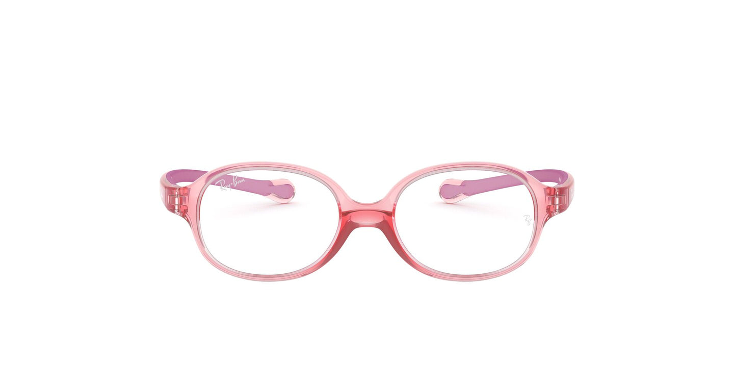 Ray Ban Rx - RY1587 Red Oval Unisex Eyeglasses - 43mm