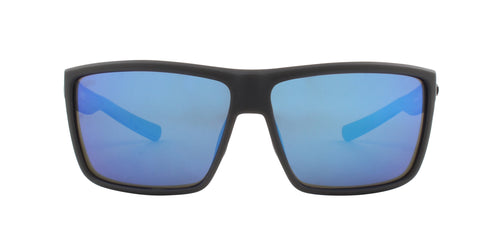 Costa Del Mar - Rinconcito Gray/Blue Mirror Polarized Rectangular Men Sunglasses - 60mm