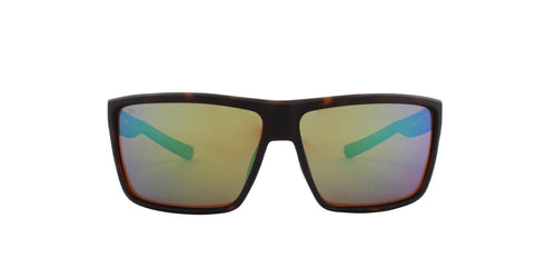 Costa Del Mar Rinconcito Tortoise / Green Lens Mirror Polarized Sunglasses