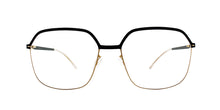 Mykita - Finna Gold/Clear Square Men Eyeglasses - 54mm