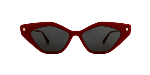 Mykita - Gapi Red Cat Eye Women Sunglasses - 55mm
