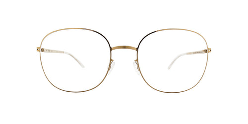 Mykita - Liska Gold/Clear Square Unisex Eyeglasses - 53mm