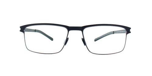 Mykita - Dennis Navy/Clear Rectangular Men Eyeglasses - 52mm
