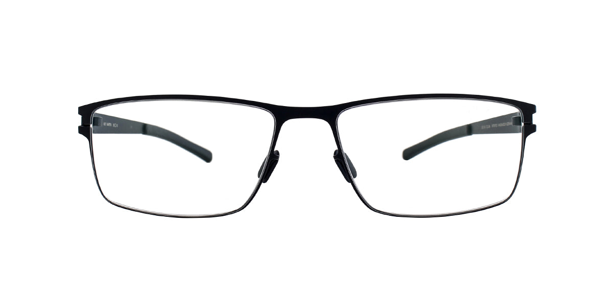 Mykita - Martin Navy/Clear Rectangular Unisex Eyeglasses - 55mm
