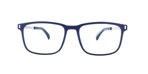 Mykita - Mate Navy Blue/Clear Square Men Eyeglasses - 52mm