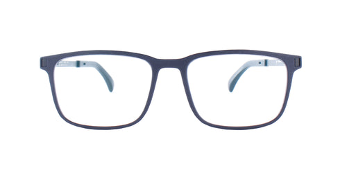 Mykita - Mate Pitch Black/Clear Square Men Eyeglasses - 52mm