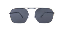 Mykita Magiela - MMCRAFT012 Black/Dark Grey Aviator Unisex Sunglasses - 52mm