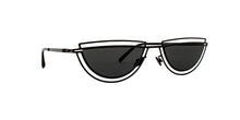 Mykita - Monogram Black/Black Oval Men Sunglasses - 51mm