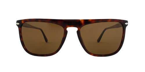 Persol PO3225S Havana / Brown Lens Solid Polarized Sunglasses