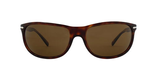 Persol PO3222S Havana / Brown Lens Solid Polarized Sunglasses