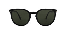 Persol PO3226S Black / Green Lens Sunglasses