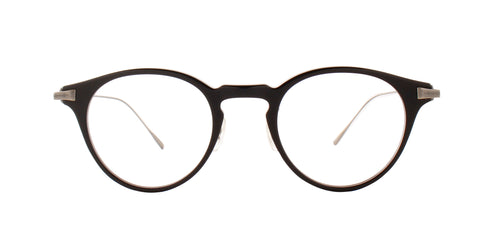 Oliver Peoples - Eldon Black Round Men Sunglasses - 48mm