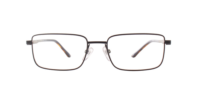Starck - SH2041 Matte Blue/Clear  Rectangular Men Eyeglasses - 53mm