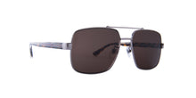 Gucci - GG0529S Ruthenium - Crystal Aviator Men Sunglasses - 60mm