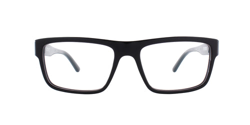 Starck SH3050 Black / Clear Lens Eyeglasses